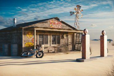 comer bem viagem de moto