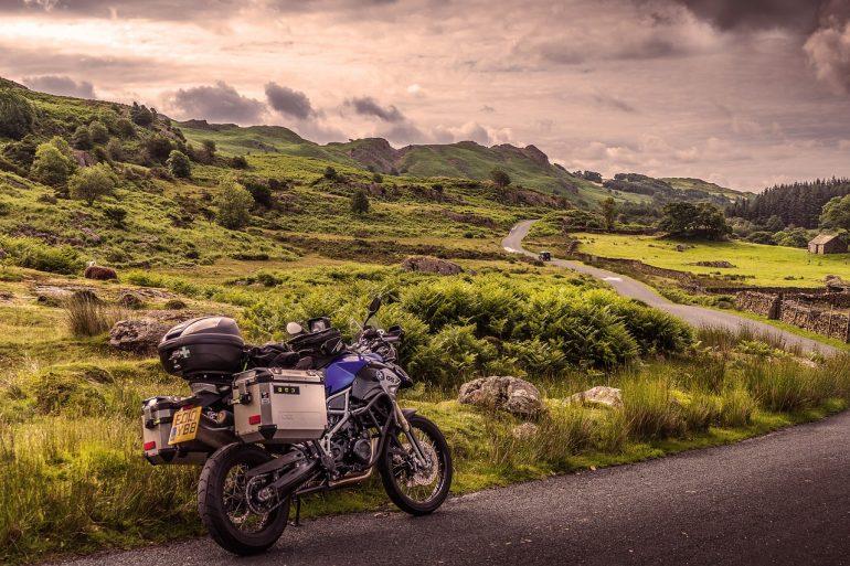 Vorbereitung der Motorradreise