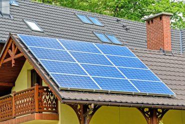 solar ecological house