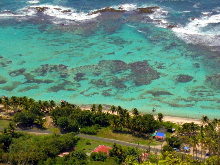 Insel Desirade Westindische Inseln